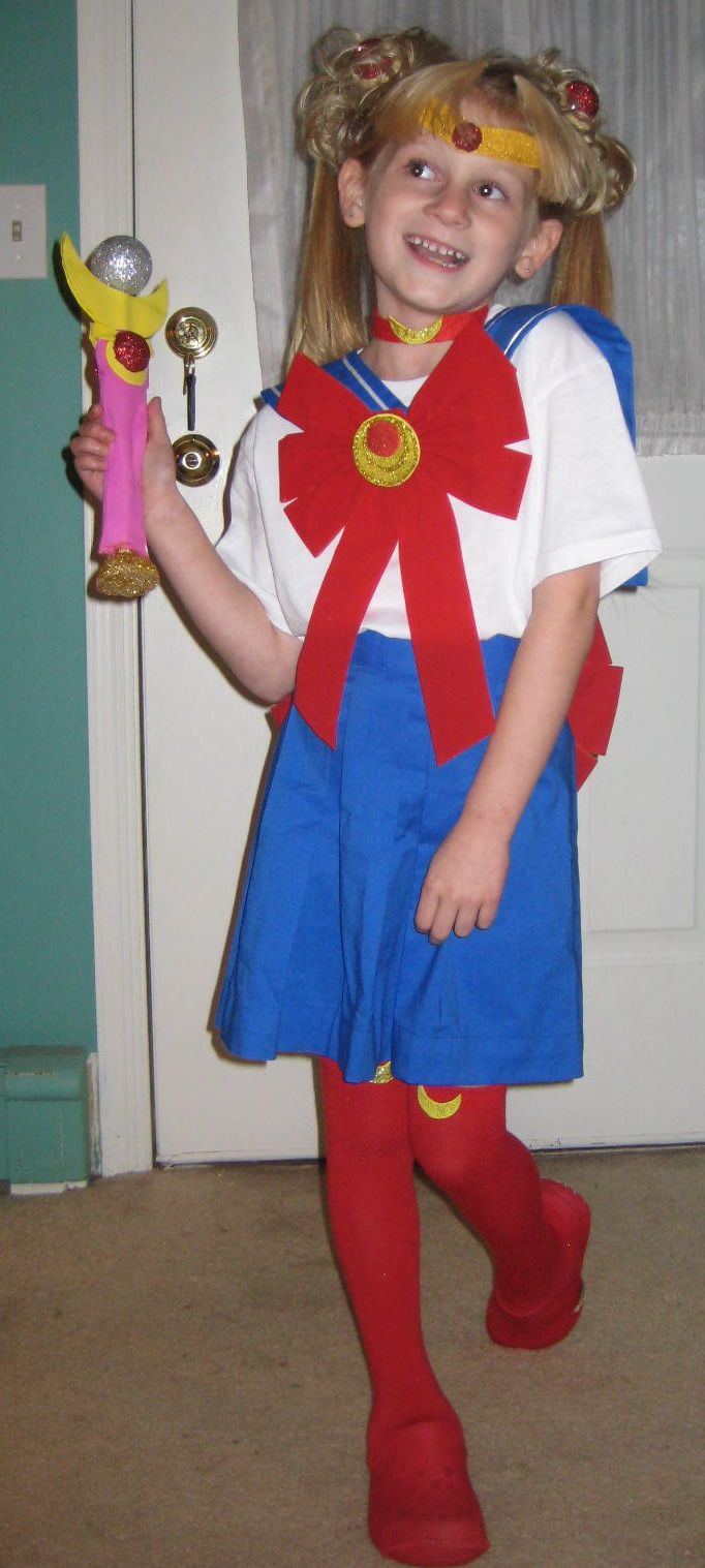 Sailor Moon Costume for Kids | ADDled Adventures