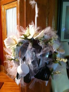 Wedding Wreath of Kitchen Utensils