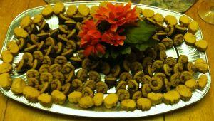 Acorn Cookies Platter