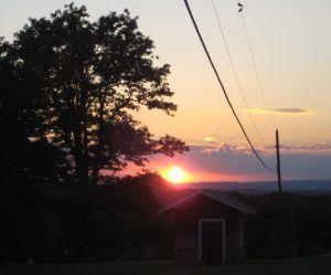 Sunny Hill Sunset