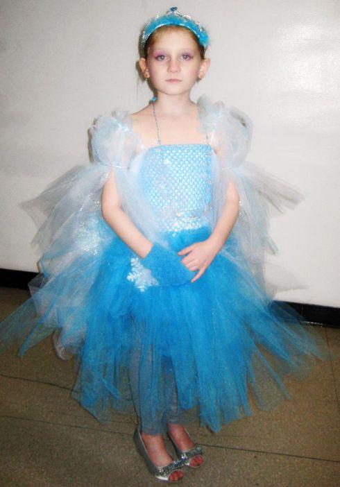 Skyler as Elsa