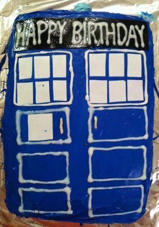 Prime Tardis Birthday Cake Math A Thon Addled Adventures Funny Birthday Cards Online Inifodamsfinfo