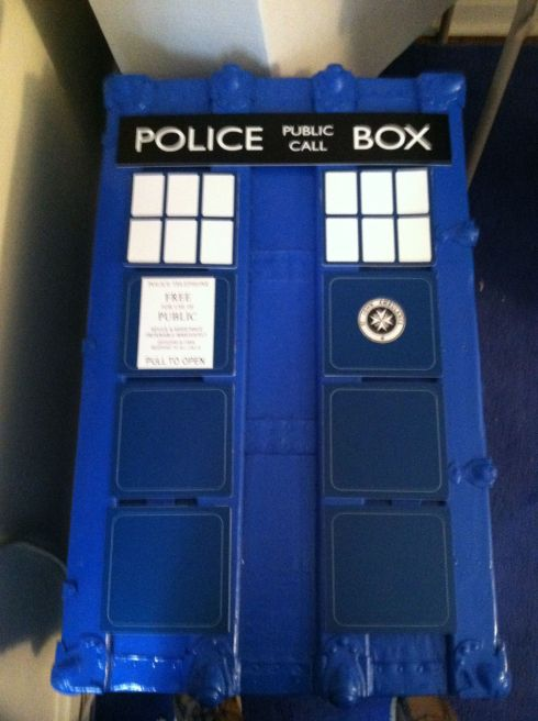 Tardis Trunk Top