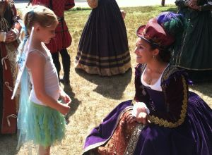 RenFaire Meet the Queen