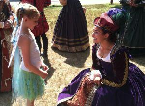 RenFaire Meet the Queen